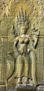 Angkor Wat Devata Inventory - West Gopura devata