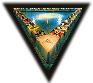 The Dinner Party by Judy Chicago at Sackler Center for Feminist Art