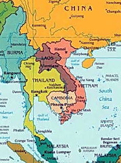 In 1975, Cambodia was in the center of a warzone, surrounded by Vietnam, Laos and Thailand.