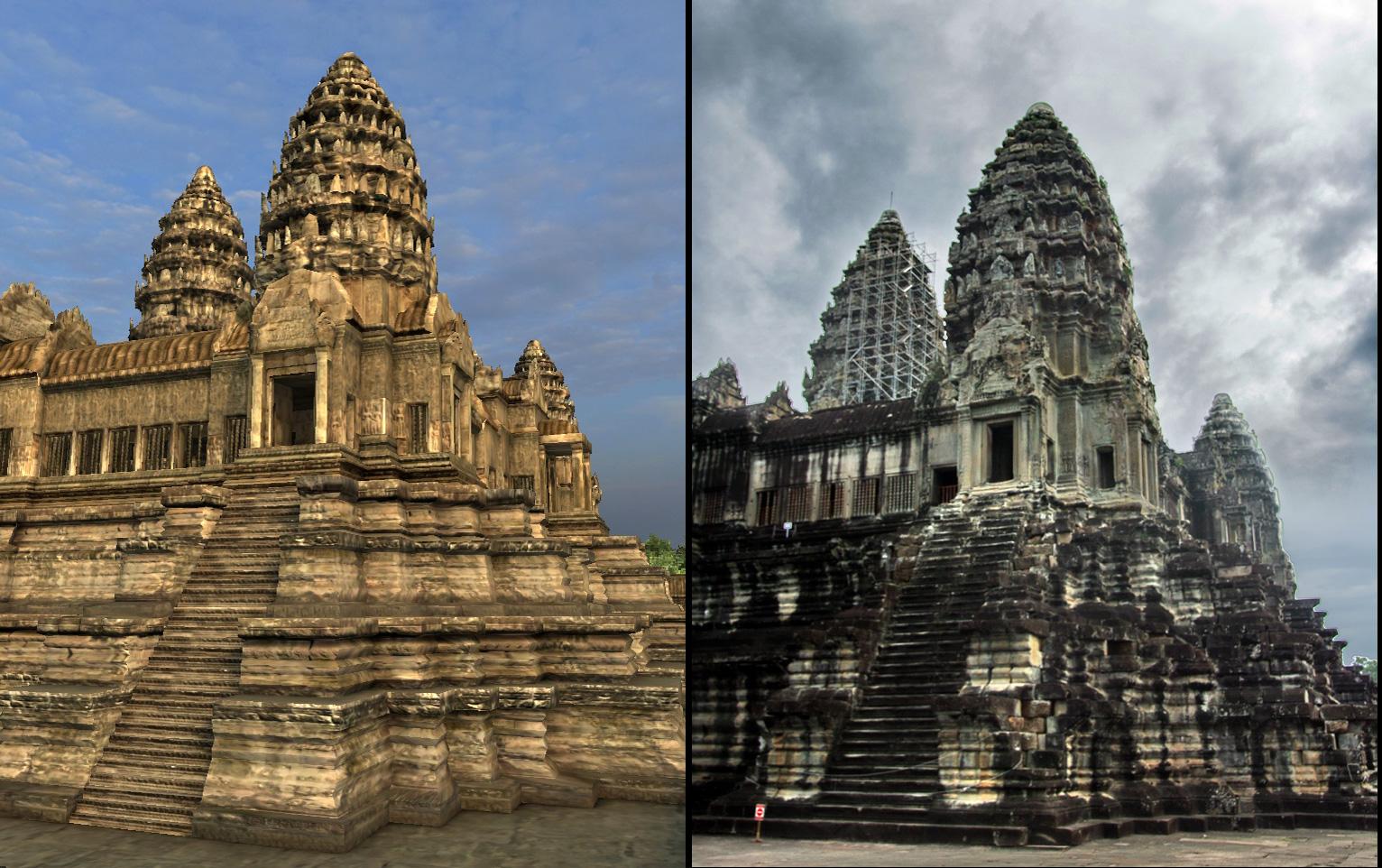 Angkor Wat 3D