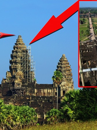 Titanic Book Unveiling on Top of Angkor Wat