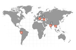Vizerra virtual tour location projects as of August 2009