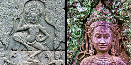 Bayon Devata Goddesses of King Jayavarman VII