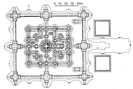 Bayon site plan