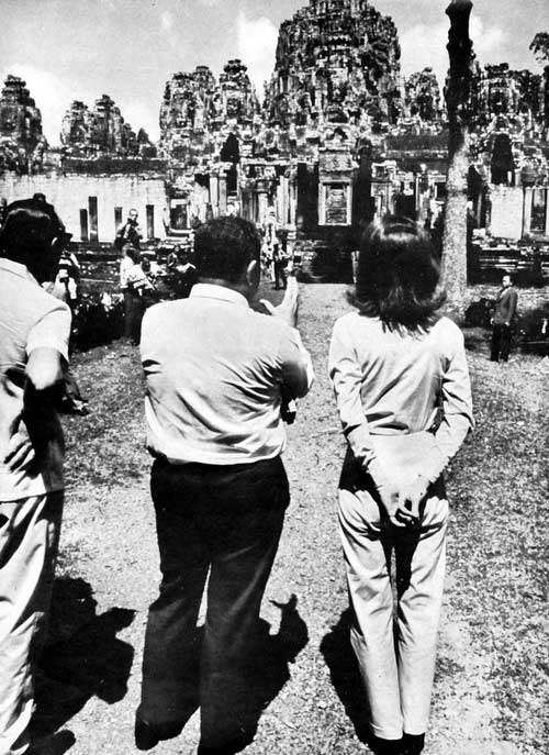 1967 Jacqueline Kennedy Visits Cambodia and Angkor Wat