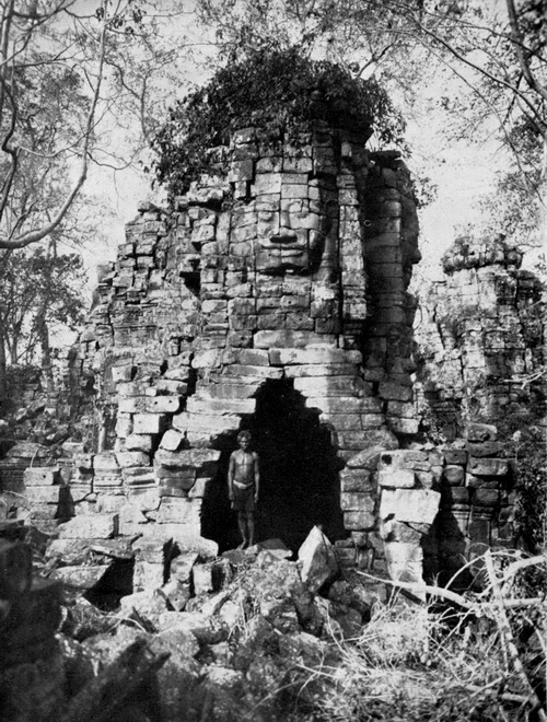 Four-face tower at Banteay Chhmar