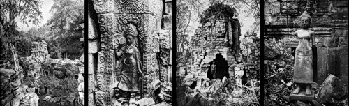 Banteay Chhmar in 1937 Ancient Khmer City in Cambodia