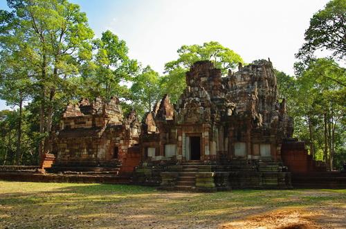 Chau Say Tevoda Khmer Devata Temple Reopens
