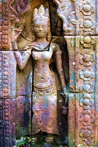 Preah Khan Devata Goddesses of Light