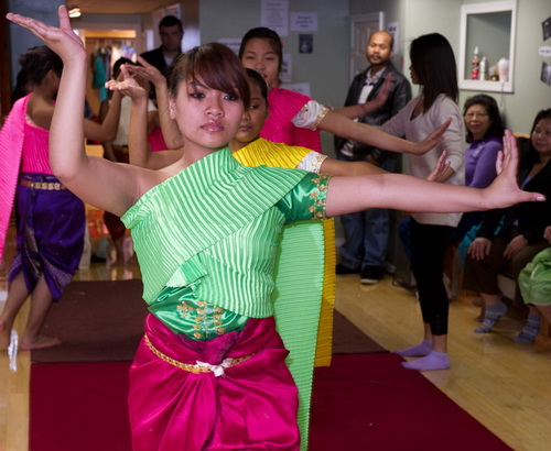 Cambodian Culture on WHYY TV: Students learning the art of Khmer Classical Dance through the Cambodian Association of Greater Philadelphia dance project.