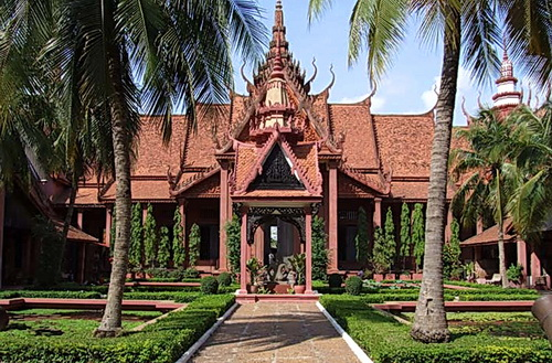 The National Museum of Cambodia today.
