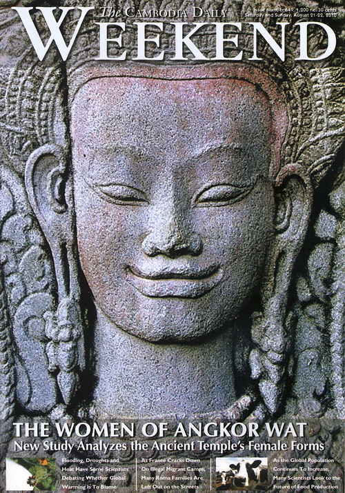 The Cambodia Daily's Weekend featuring the mysterious Angkor Wat women who fill the ancient Hindu temple.