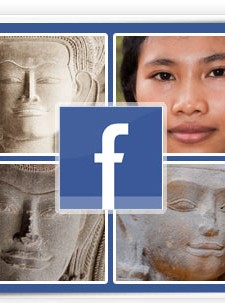 "Angkor Wat contains 12th century portraits of 1,796 individual women. They were clearly part of a ""social network"". One researcher asked if this was an ""ancient Facebook""?"