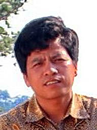 Cambodian Archaeologist Heng Sophady in Memot.