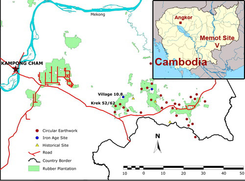 Prehistoric sites in Southeastern Cambodia are filled with details about the country's distant past [Memot historical site].