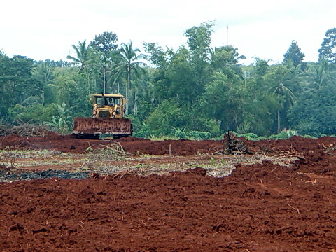 The entire prehistoric site in Memot Cambodia was leveled in a matter of hours.
