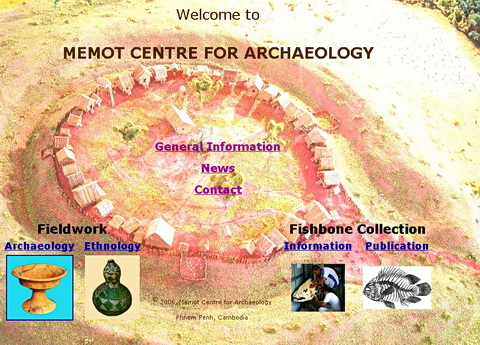 The Memot Centre for Archaeology website.