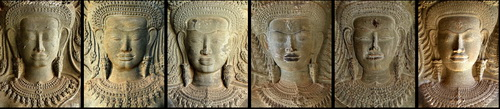 Each of the 1,796 women at Angkor Wat is unique.