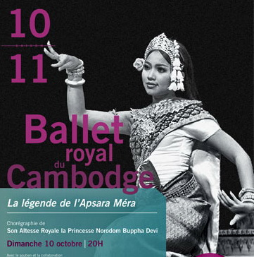 Royal Ballet  of Cambodia - Le Ballet Royal du Cambodge Paris performance.