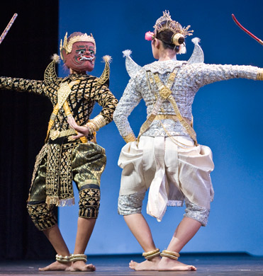 Performance by the RoyalBallet.of Cambodia Copyright 2010 Anders Jiras.