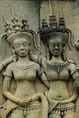 Angkor Wat friends.