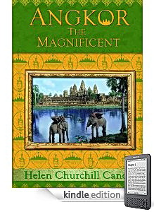 Angkor History Book by Titanic Survivor Helen Candee on Kindle Reader