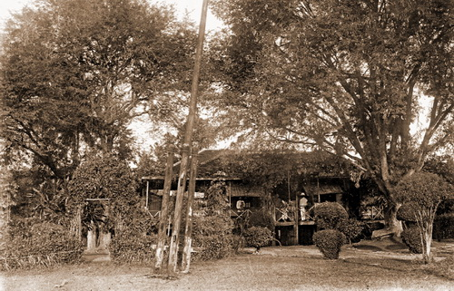 Governor's residence in Sisophon, near Banteay Chhmar, 1924. © National Museum of Cambodia