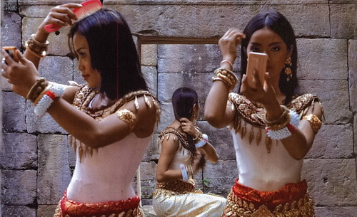 To Cambodia With Love - Cambodian dancers by Tewfic EI-Sawy.