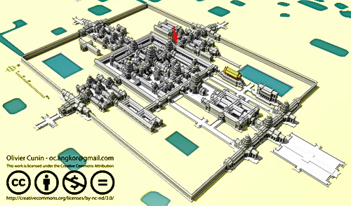 3D reconstruction of Preah Khan