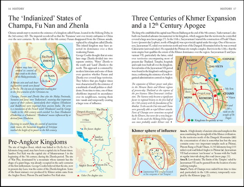 The Angkor Guidebook opens with a visual, 100-page presentation of Khmer history, architecture, religion and culture.