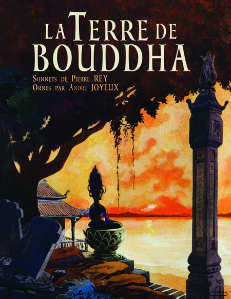 La Terre de Bouddha – Artistic Impressions of French Indochina. Front cover.